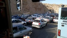 آخرین وضعیت ترافیکی محورهای منتهی به چهار پایانه مرزی اربعین