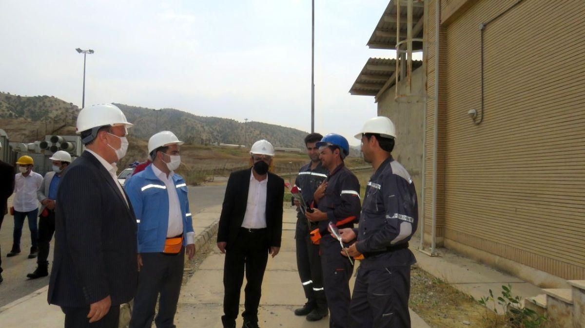 نیروی های کارگری پالایشگاه گاز ایلام تجلیل شدند