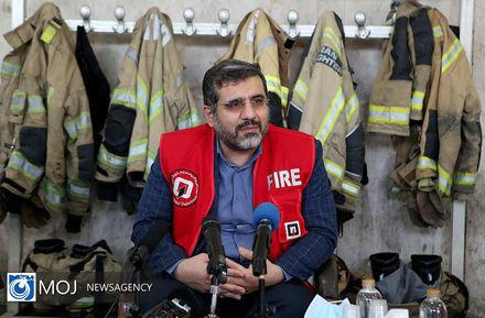 گرامیداشت روز آتش نشان با حضور وزیر فرهنگ