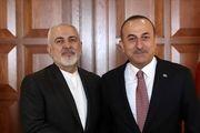 ظریف با همتای ترکیه ای خود دیدار کرد