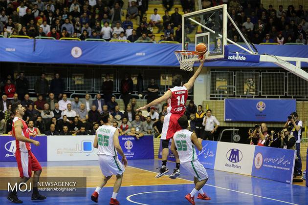 حل مشکل بازیکنان  بسکتبال برای سفر به بلژیک