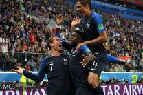 نتیجه بازی فرانسه و بلژیک در نیمه نهایی جام جهانی/ صعود فرانسه به فینال