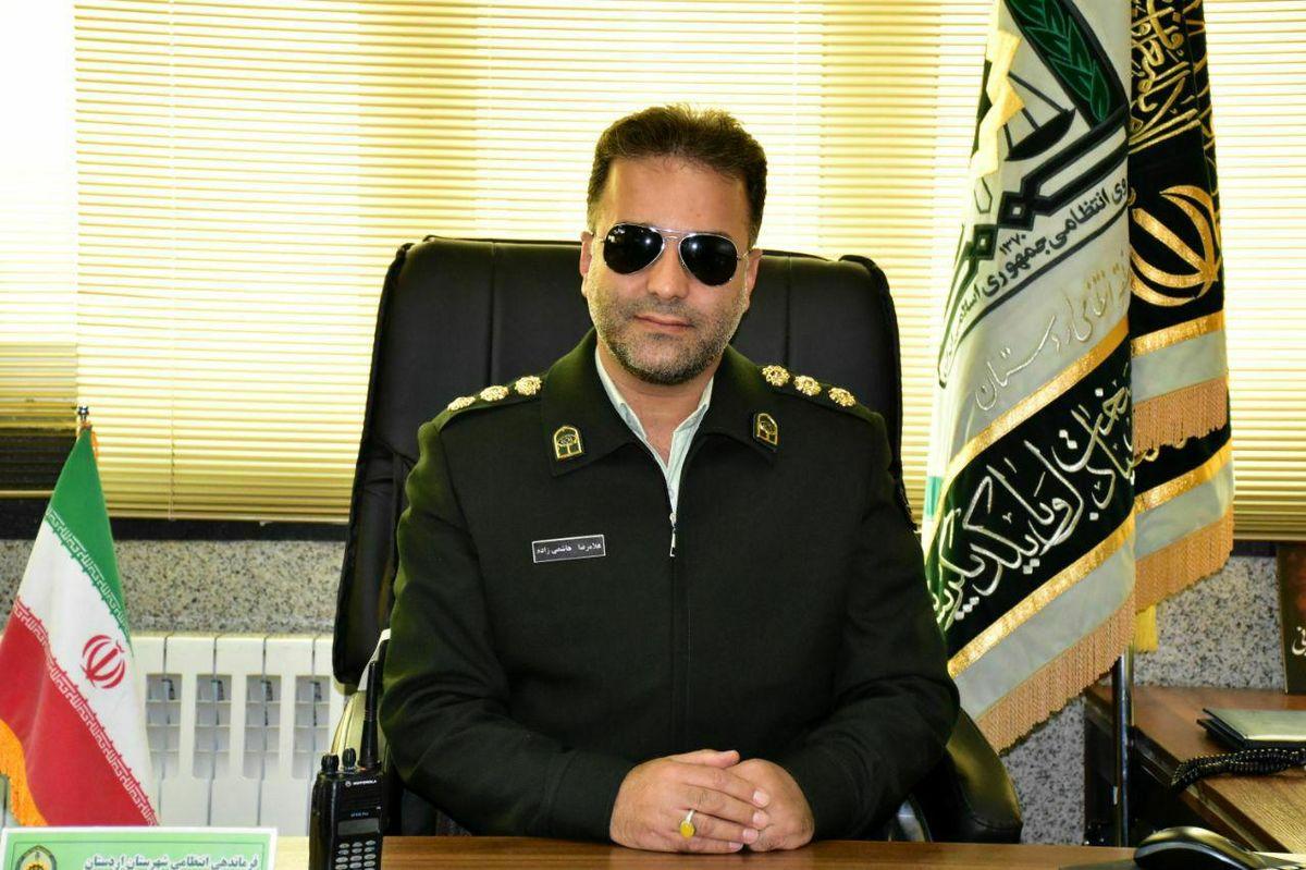 دستگیری سوداگر مرگ در اردستان / کشف 150 گرم ماده مخدر شیشه