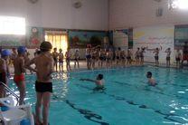 200 دانشآموز روانسری کلاس سوم بامهارت شنا آشنا شدند