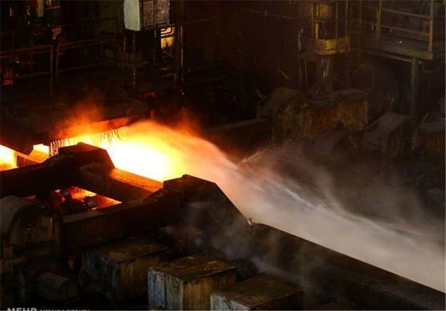 تولید فولاد ایران ۴۰.۴ درصد رشد داشت