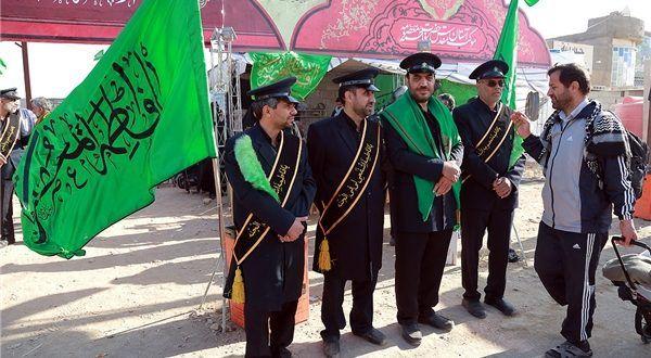 میزبانی موکب آستان حضرت معصومه(س) از زائران رسانهای اربعین