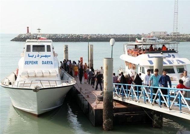 شناور مسافری سپهر دریا آتش گرفت / 85 مسافر در سلامت کامل به بندر شهید حقانی رسیدند