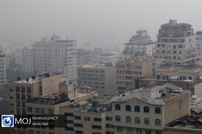 کیفیت هوای تهران ۲۵ دی ۹۸ ناسالم است/ شاخص کیفیت هوا به ۱۱۲ رسید