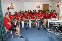 جلسه فنی کی روش با حضور بازیکنان تیم ملی برگزار شد