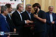 گرامیداشت روز خبرنگار با حضور علی لاریجانی