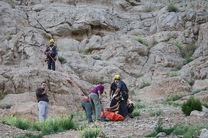 سقوط از کوه صفه جان بانوی ۳۰ ساله را گرفت