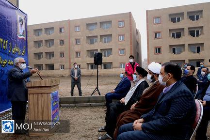 مراسم رونمایی از ۳۵۲ واحد مسکونی درحال ساخت مددجویان استان تهران