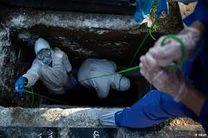 رعایت پروتکل های بهداشتی در تدفین بیماران کرونایی