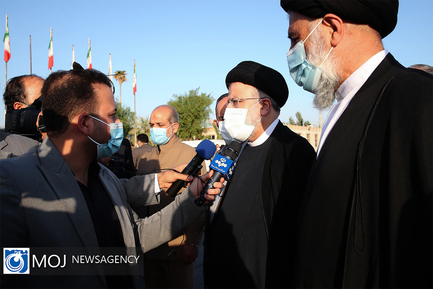 سغر سید ابراهیم رئیسی رییس جمهوری به استان خوزستان
