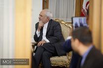 دیدار ظریف با نماینده گوترش