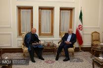 دیدار رئیس جمهور سابق افغانستان با ظریف