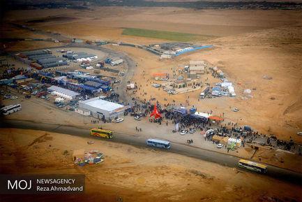 مرز مهران در ایام اربعین