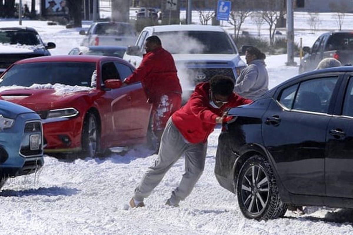 شمار قربانیان سرما و یخبندان بیسابقه در آمریکا به ۷۰ نفر رسید