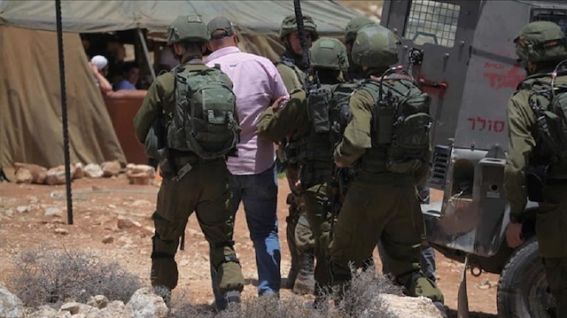 Zionist Regime forces arrested 26 Palestinians in West Bank