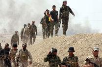 دفع حمله داعش توسط الحشد الشعبی در میدان نفتی دیالی
