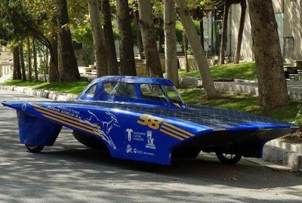 خودروی خورشیدی ایرانی امروز به یزد میرسد