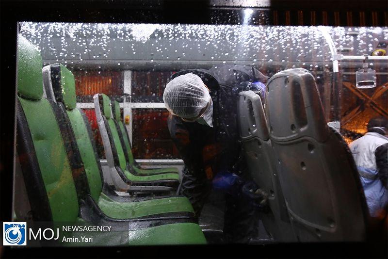 تکذیب استفاده از جوهر نمک برای ضد عفونی کردن اتوبوسها