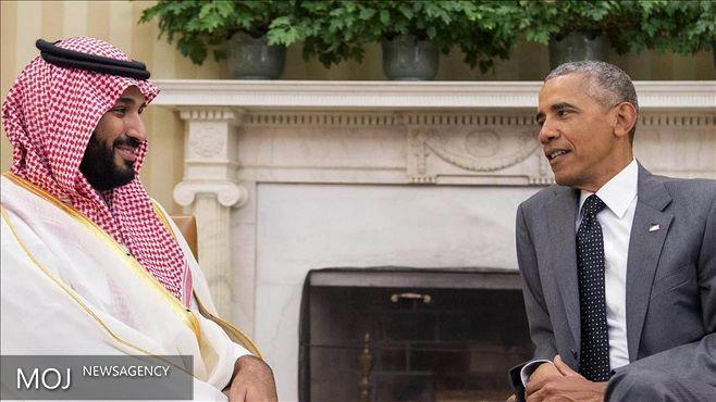 اوباما و محمد بن سلمان درباره ایران گفتگوکردند