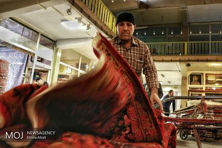 بازار+فرش+دستباف+تهران