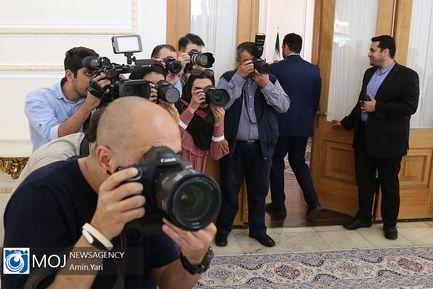 دیدار های امروز ظریف - ۱۶ تیر ۱۳۹۸