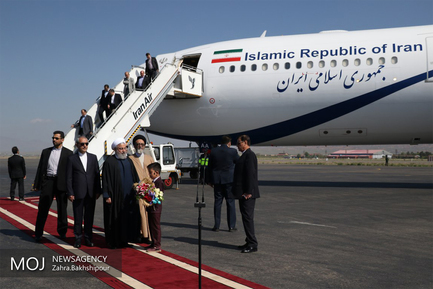 سفر رییس جمهوری به تبریز