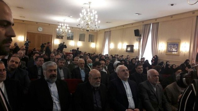 مراسم «بزرگداشت شهدای وزارت امور خارجه » با حضور ظریف