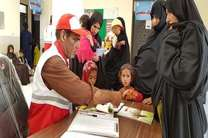 اعزام کاروان سلامت هلال احمر اصفهان برای کمک به مردم سیستان و بلوچستان