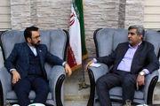 استاندار گیلان با سرکنسول جمهوری اسلامی ایران در آکتائو دیدار کرد