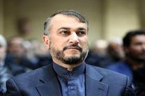 امیرعبداللهیان آزادسازی قنیطره را تبریک گفت