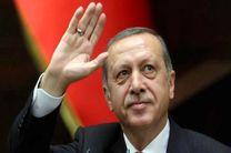 حضور اردوغان درمحل تظاهرات گسترده استانبول