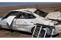 2 کشته و یک مجروح در اثر واژگونی سمند در اردستان