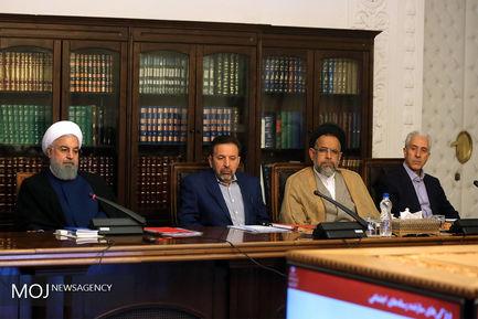 جلسه شورای عالی فضای مجازی با حضور رییس جمهوری