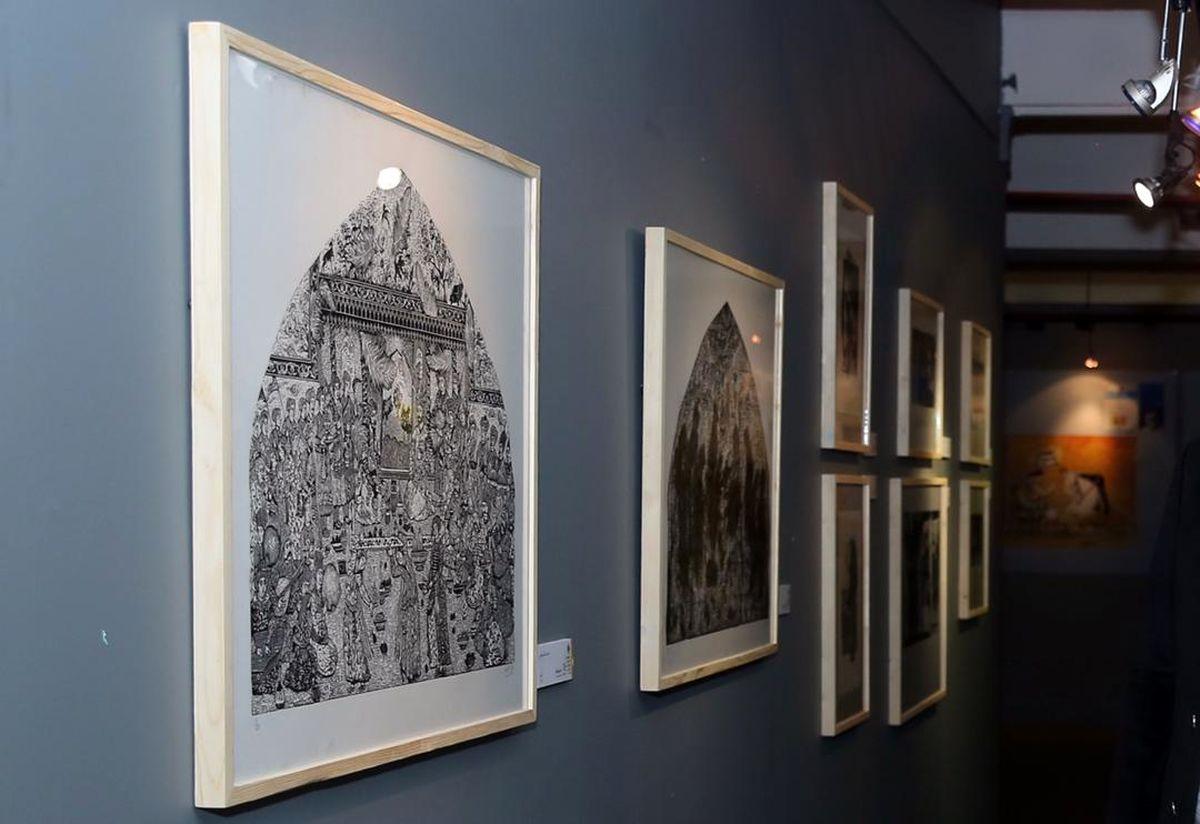 جشنواره تجسمی فجر میزبان هنرمندان پیشکسوت و جوان ایرانی و خارجی چاپ دستی