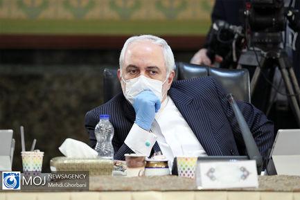 جلسه هیات دولت - ۲۷ فروردین ۱۳۹۹/ ظریف