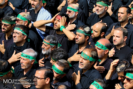 مراسم عزاداری عاشورای حسینی در اصفهان