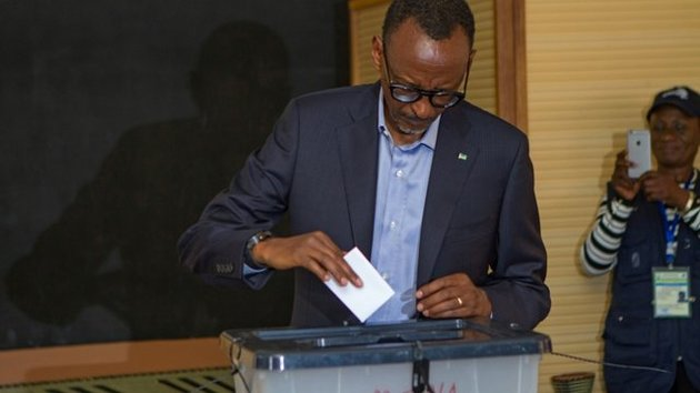 کاگامه برای بار سوم رئیس جمهور روآندا شد