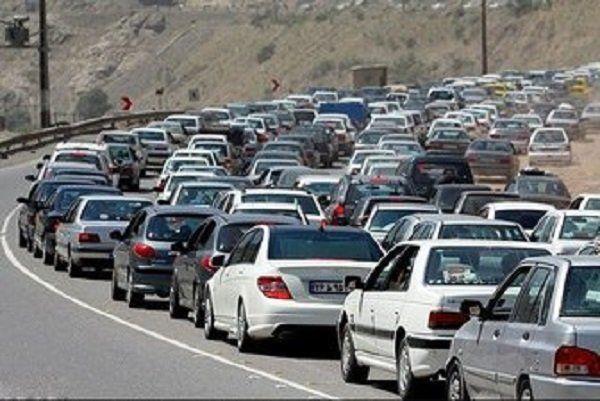 آخرین وضعیت جوی و ترافیکی جاده ها تا ساعت ۱۹/ محورهای پرترافیک اعلام شد