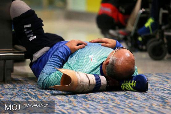تصاویری از ورود کاروان ورزش پارالمپیک ایران به ریو