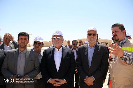 افتتاح پروژه های عمرانی در اصفهان