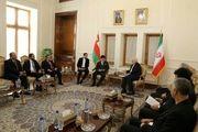 دیدار ظریف و بن علوی در خصوص موضوعات دوجانبه و منطقه ای