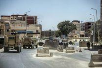 کشته شدن 8 شبه نظامی در شبه جزیره سینا توسط پلیس مصر