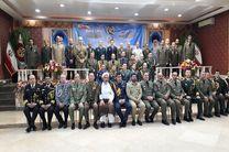 دیدار بیش از 30 وابسته نظامی کشورهای مختلف با امیر حیدری