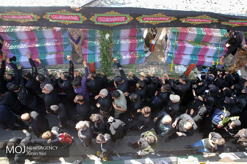بازگشت پیکرهای ۱۶۷ شهید دوران دفاع مقدس به کشور