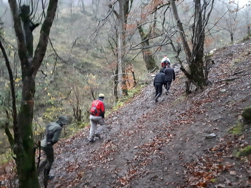 کوهنورد اردبیلی گمشده در تالش توسط امداد گران هلال احمر پیدا شد