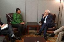 ملاقات دادستان دیوان کیفری بین المللی با ظریف